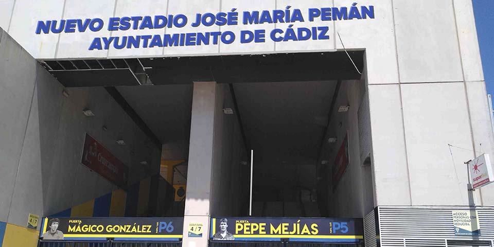 Una plataforma ciudadana propone «José María Pemán» como nuevo nombre para el estadio Carranza