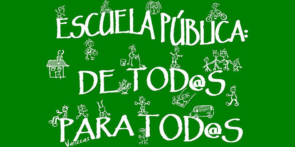Educación pública gaditana: de la resistencia a la exigencia