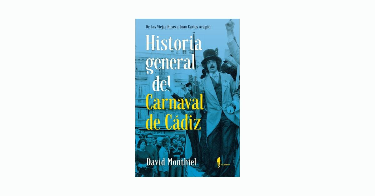 Historia general del carnaval de cadiz portada